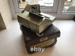 Original London Transport Almex E Bus Ticket Machine Base Plate & Matching Box