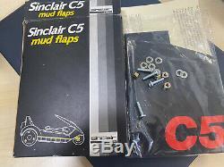 Original Sinclair C5 Boxed Mud Flaps Genuine