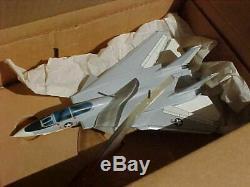 Original Vintage Grumman F-14 Aircraft Precise Desk Model In Box