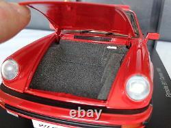 PORSCHE 911 CARRERA 1988 AUTOart 118 Period Correct Authentic RAREOriginal Box