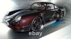 PORSCHE 959 EURO SPEC PROTOTYPE Palisander Metallic 1-Piece WheelsOriginal Box