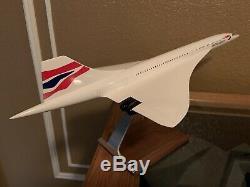 PacMin 1/100 Rare British Airways Concorde Model (Union Jack) With Original Box