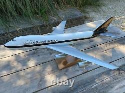 PacMin Boeing 747 UPS Scale 1100 No Original Box
