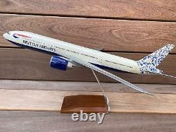 PacMin Boeing 777-200 British Airways Holland Scale 1100 Original Box