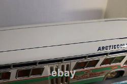 RARE ASAHI ATC JAPAN FRICTION D. C. TRANSIT FISHBOWL BUS With ORIGINAL BOX