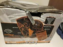 RARE Harley Davidson Boom Box CD Player TV Lantern Model # 416376 withOriginal Box
