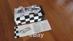 Rare Atlantis Cristal 1957 Maserati 250 F race car leaded crystal original box