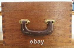 Rare Non Chatter Oilzum Gas Engine Cylinder Oil Wood Chest Box For Ford Cars