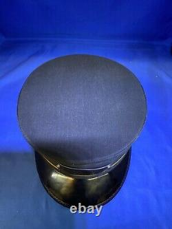 SOUTHERN RAILWAY FLAGMAN CONDUCTOR Hat Cap Original Box NEW VTG With Lot Of Pins