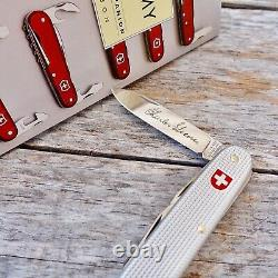 SWISS ARMY Soldiers Knife Collectors Book BOXED SET VICTORINOX First Edition NIB