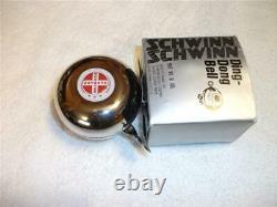 Schwinn NOS Vintage Ding Dong Bell in Original Box Part #01-005