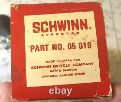 Schwinn Sting Ray Vintage NOS Original Triple Note Horn Bicycle Accessory with Box