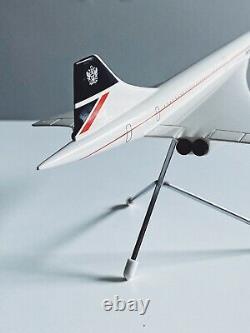 Space Models British Airways Concorde 1980 Original Box And Schabak Concord
