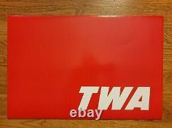 TWA 50 Years Service 1926-1976 Plane 8 Print Set UNTOUCHED SEALED ORIGINAL BOX