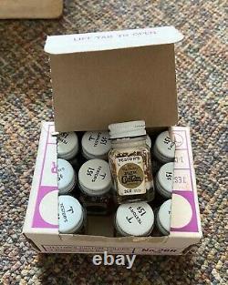 Testors Ed Roth Paint Original Shipping Box 46 total bottles RatFink