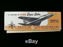 Topping Models North American F-100 Super Sabre Model Aircraft with Original Box