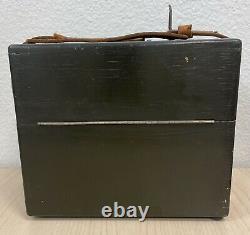 US Army Air Corps Aircraft Octant Type No. A-7 Bendix Aviation WW2 / Original Box