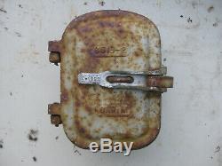 US & S Switch box CNR Railway RAIL ROAD CROSSING lights Original 1940s cast iron