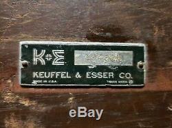 VINTAGE TRANSIT KEUFFEL & ESSER Co 194916 ORIGINAL BOX AS PICTURED