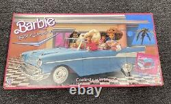 Vintage 1989 Barbie Blue 57 Chevy NEW In Box. NEVER OPENED! Great Condition