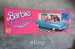 Vintage Barbie Blue 57 Chevy NEW In Box NEVER OPENED Vintage Barbie Car NIB
