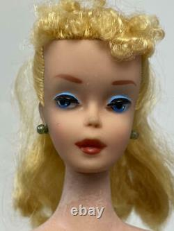 Vintage Blond Ponytail Barbie In The Original Box Either #3 Or #4 Transitional