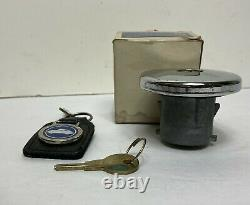 Vintage Buick Locking Gas Tank Cap Keys Original Box Nos Oem Original