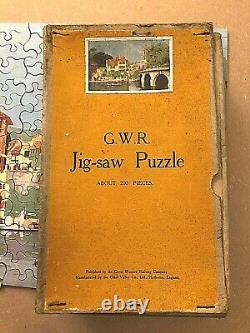 Vintage Jigsaw in Original Box Henley Bridge, Great Western Railway 200 pieces