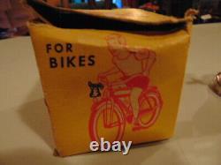 Vintage NOS Starr Super Chief Train Bicyle Bell in original box No. 325