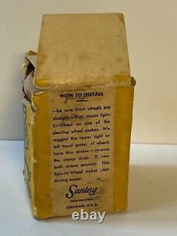 Vintage Santay Spinner/ Suicide Knob Wheel Original NOS Unused in Box # 2