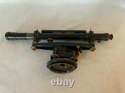 Vintage Transit Surveying Instrument with Original Box