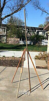 Vintage Wissler St. Louis Brass Surveying Transit with Original Wood Box FINE