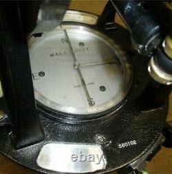 W&LE Gurley Transit Survey Equipment Telescope Serial#560102 Original Wood Box