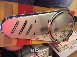 Whizzer Chrome Belt Guard NOS Original Box Never Mounted