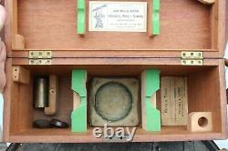 Young & Sons Surveyors Transit with original Box & Original Tri Pod Late 1800s