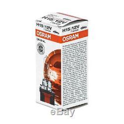 10x H15 12v 55w Osram Lampen Scheinwerfer Halogène Lampe 64176 Birnen Birne Drl