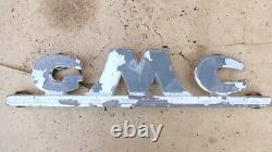 1947 1954 Gmc Truck Grille Emblem Original Gmc Name Plate