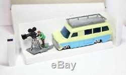 1960 Hong Kong En Plastique Ford Transit Avec Cameraman Dans Sa Boîte D'origine Rare