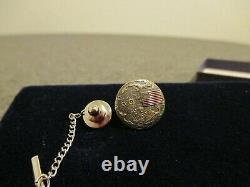 1969 Grumman/nasa Apollo 11 (1er Mandat Lunaire) Tie-tac, Pin- Original Box