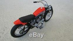 1972 Harley-davidson Xr750 110 Célèbre Moto De Course Us 8 Po. Long Avec La Boîte Coa