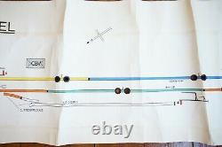 1978 Arundel Original Signalling Signal Box Sidings Railway Plan Diagram (en Français)