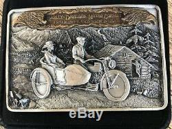 1985 Boucle De Ceinture Harley Davidson Et Utilisé Dans La Boîte D'origine