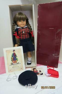 1991 Pleasant Company American Girl Molly Boîte Originale Accessoires De Transition