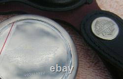 1998 Harley Davidson 95e Anniversaire Fob Montre 97853-98v Boîte Originale Nos Nouveau