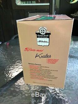 69 Schwinn Sting Ray Orange Krate 16 Die Cast Xonex Grande Boîte Originale