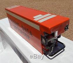 727 Commercial Airliner Enregistreur De Données De Vol Cockpit Pilote Black Box (orange)