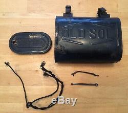 Accessoires Original Vintage Vélo Old Sol Box Batterie