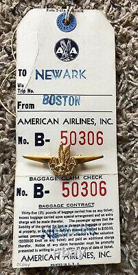 American Airlines Little Miss Stewardess Set En Boîte D'origine / De Nombreux Accessoires