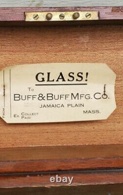 Antique Et Buff Buff Niveau Transit Dans La Boîte D'origine