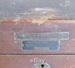 Antique Keuffel & Esser Co. Arpentage Transit 23350 Avec La Boîte D'origine